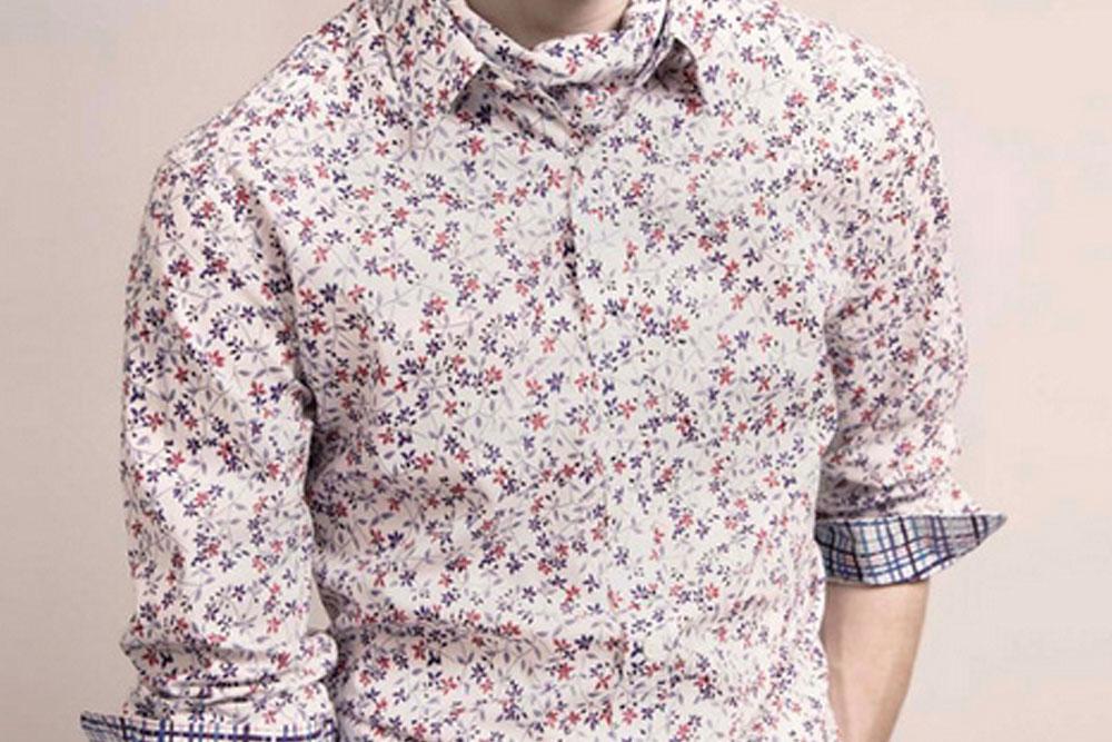 Estampas microflorais: tendência da moda verão masculina!