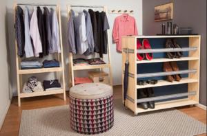 Aprenda aqui: como organizar as roupas com pouco espaço? Camisaria Italiana