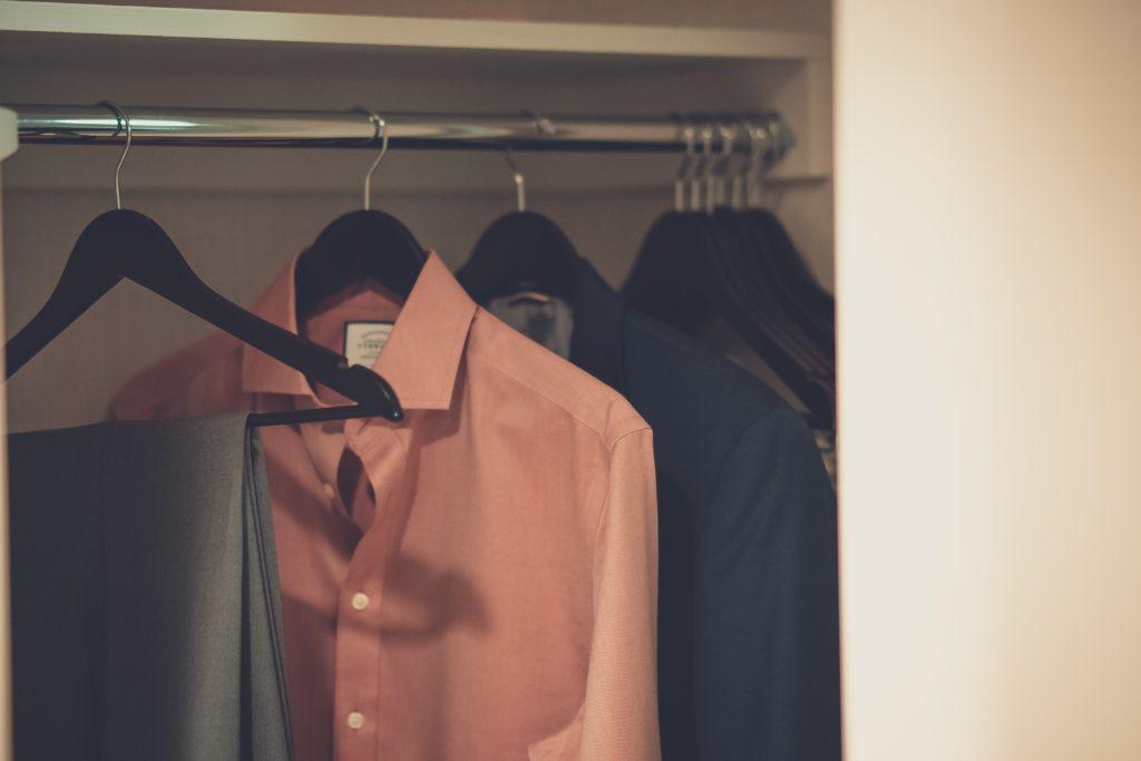 camisa slim fit masculina